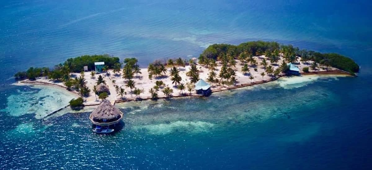 Island for sale in Belize