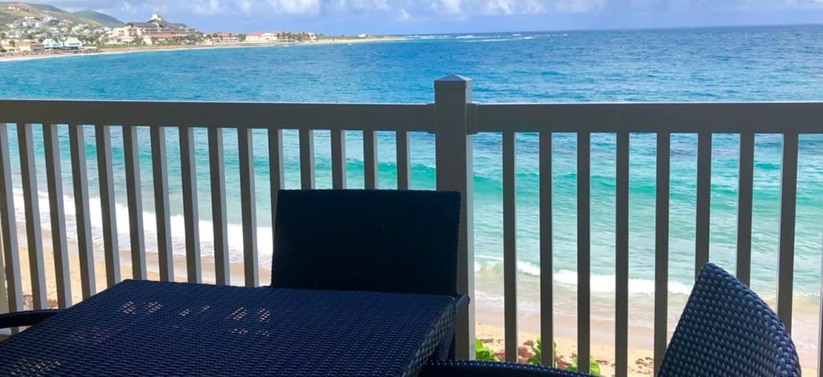 Beachfront condo for sale in Frigate Bay in St Kitts