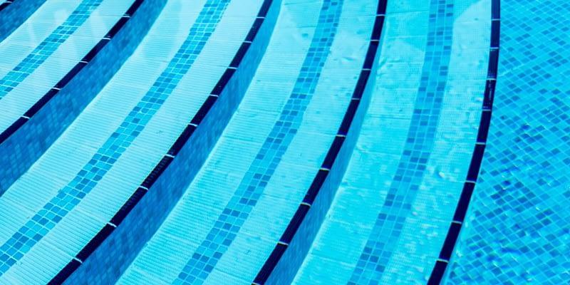 Pool at a Caribbean resort