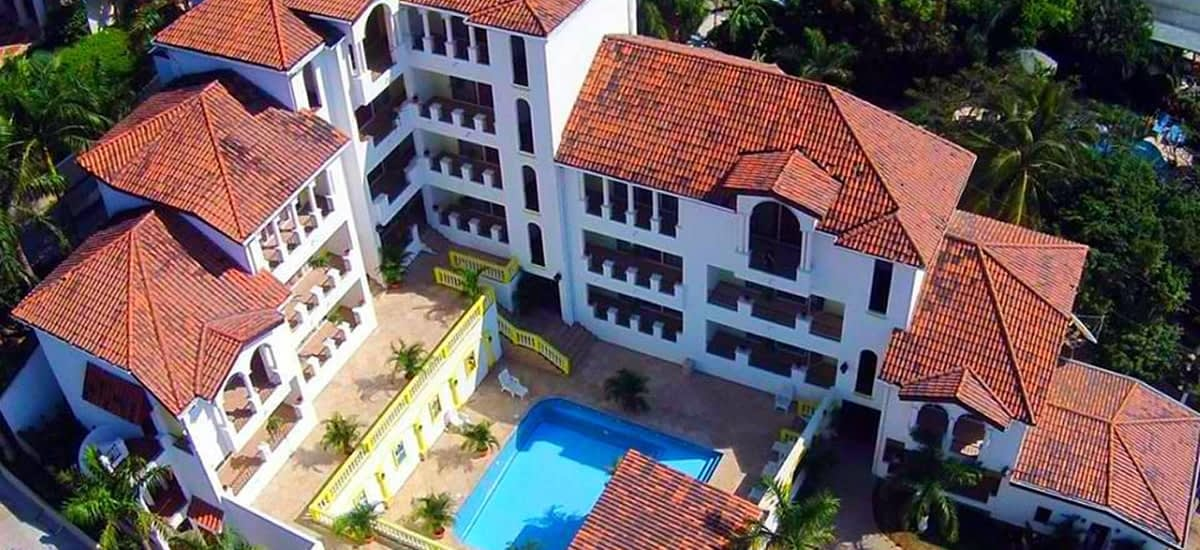 Family-friendly boutique hotel for sale in West Bay, Roatan