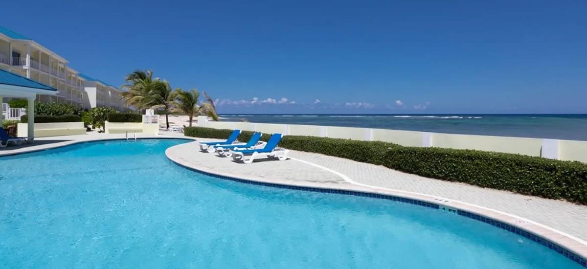 Beachfront condo for sale in Grand Cayman