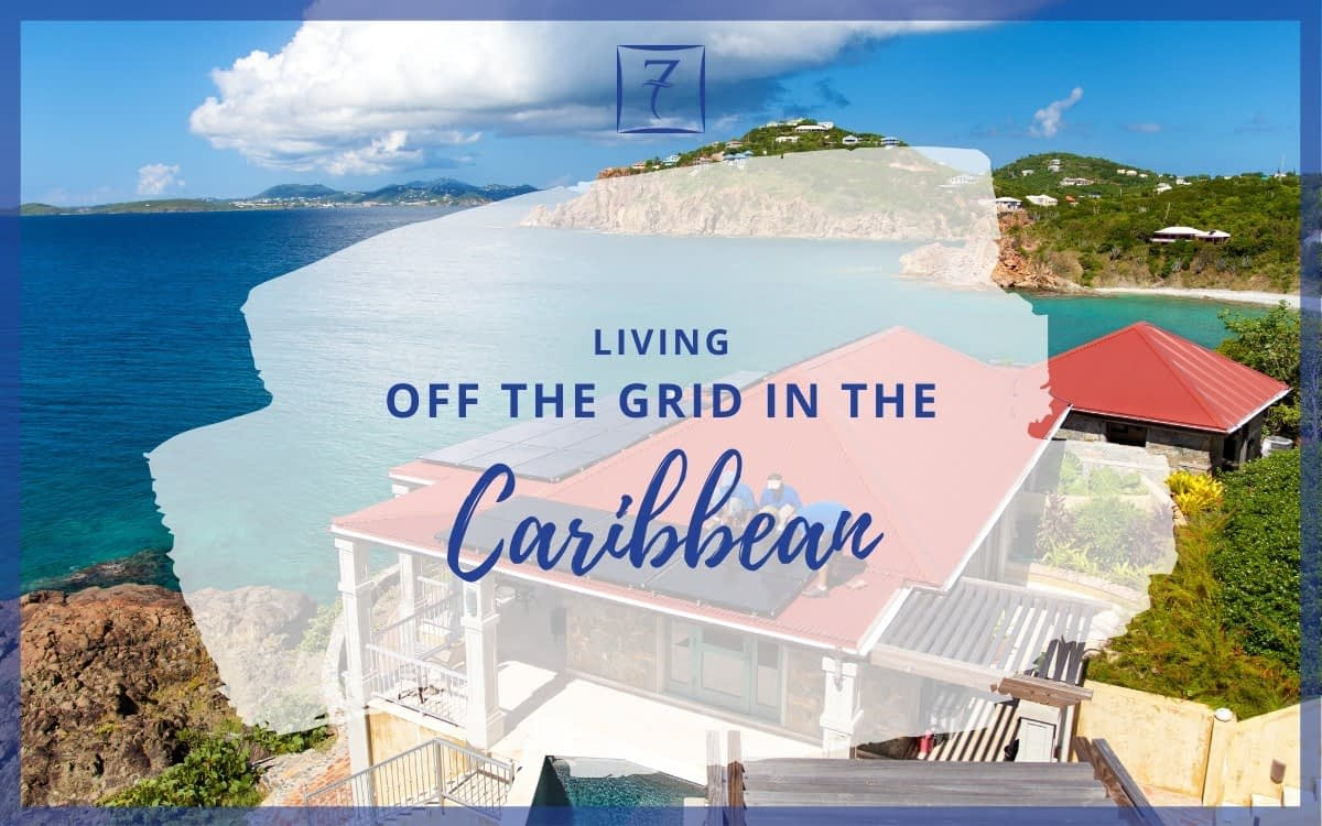 Living off the grid in the Caribbean