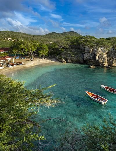 Beautiful beach in Curacao