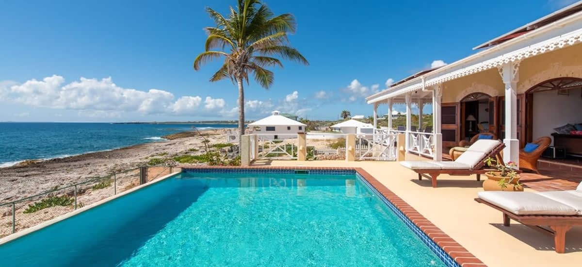 Off the grid home for sale in Anguilla
