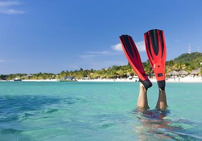 Diving in Roatan