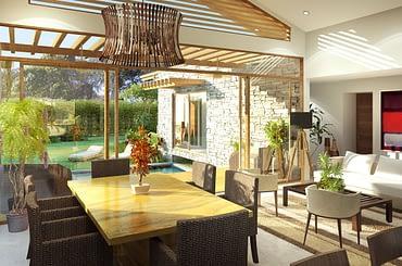 Homes for sale, Tela Bay, Atlantida, Honduras - dining room