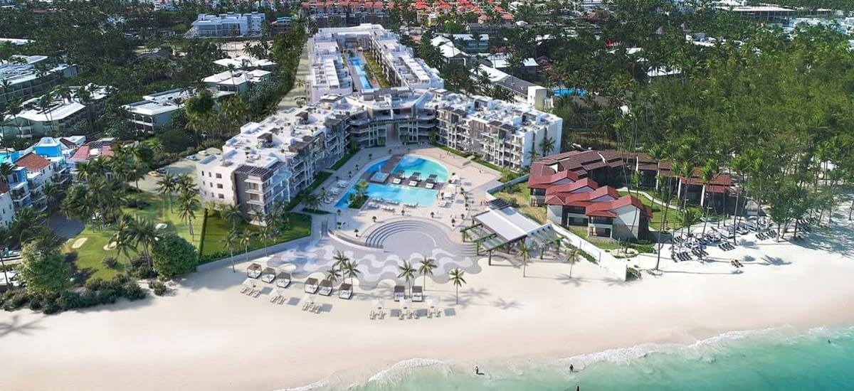Beachfront condos for sale in Bavaro-Punta Cana in the Dominican Republic
