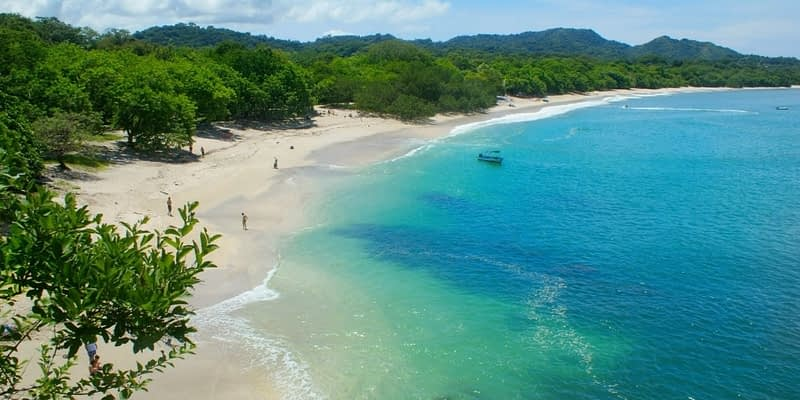 Beautiful beach in Costa Rica