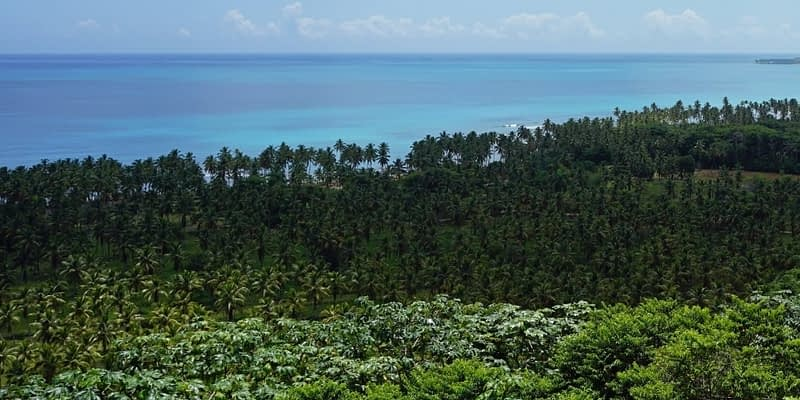 Dominican Republic - aerial view