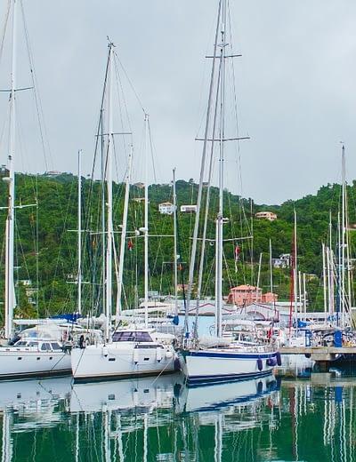 Yachts in Grenada