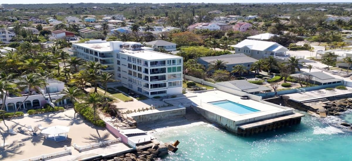 Oceanfront condo for sale in Cable Beach in The Bahamas